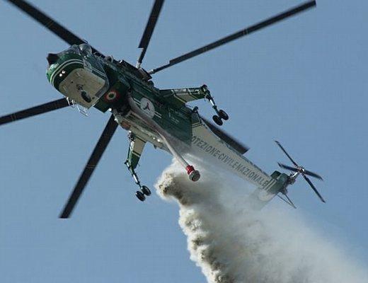 Canadair O Elicottero : Gruppo comunale quot protezione civile lettomanoppello