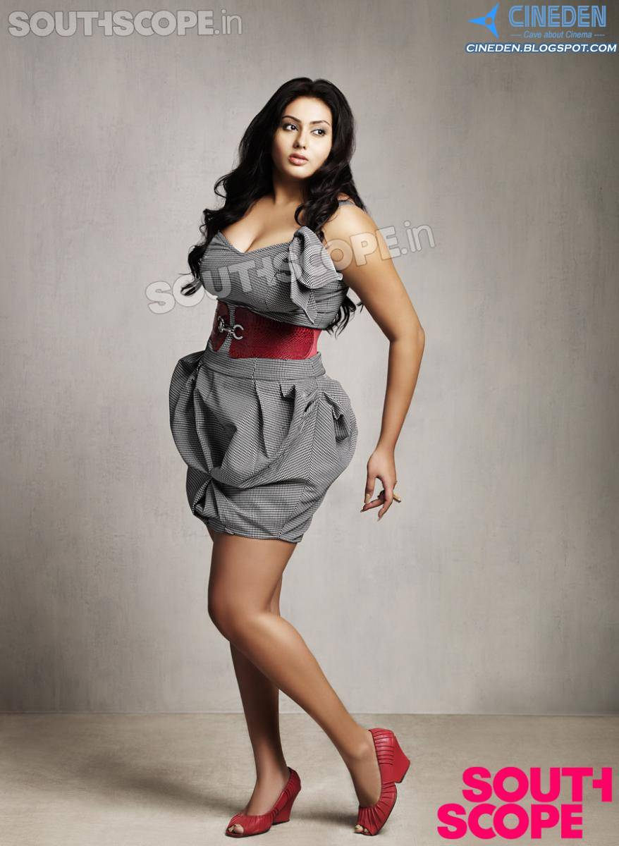 Namitha Exclusive Photoshoot For South Scope Magazine