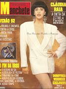 Relembre: Claudia Raia em entrevista para a Revista Manchete.