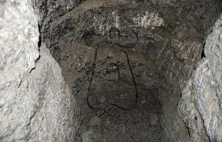 Detalle del escalón del ramal C, fondo de saco