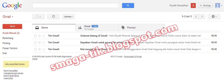 Cara Membuat Email di Gmail.com | CATATAN HARIANKU