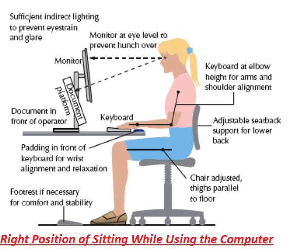 Right Way To Sit At A Desk Hostgarcia