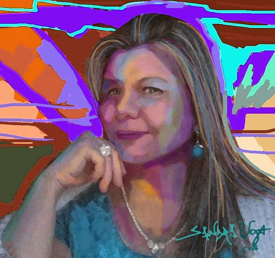 Arte-Retrato de Sandra Uga