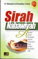 sirah nabawiyah al buthy rumah buku iqro sejarah nabi
