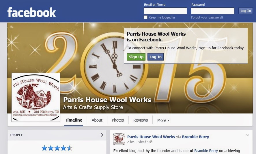 https://www.facebook.com/pages/Parris-House-Wool-Works/212215678817217