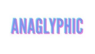 CSS3:Anaglyphic yazı efekti