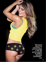 fotos de la colombiana Vaneza Pelaez en el portafolio de la Revista de espectaculos TV Y Novelas Agosto 2012 (8-2012) Edición Colombia
