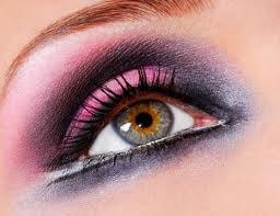 Maquiagem 3D rosa