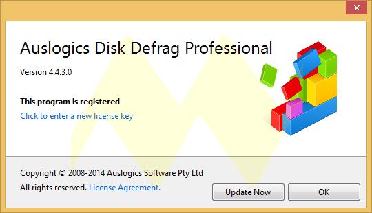 Auslogics Disk Defrag Pro 4.4.3