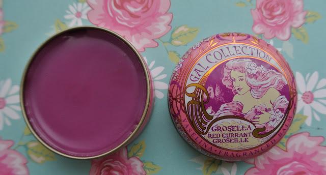perfumeria gal collection lip balm red currant