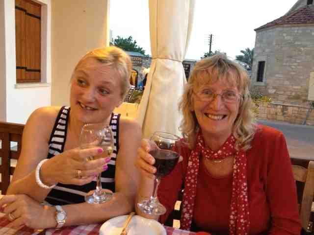 madmumof7 and mum in Cyprus