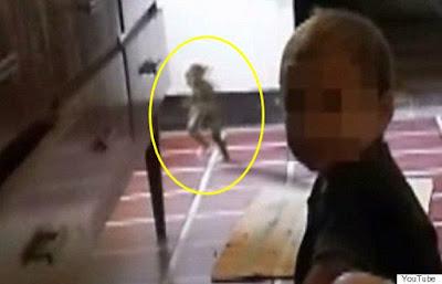 Heboh, Penampakan Makhluk Goblin Sedang Berlari