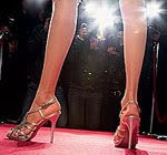 női lábak