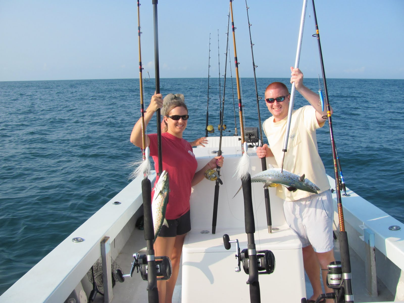 Emerald isle fishing report flounder mackerel and sea for Emerald isle fishing report