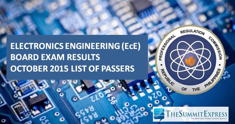 October 2015 ECE, ECT board