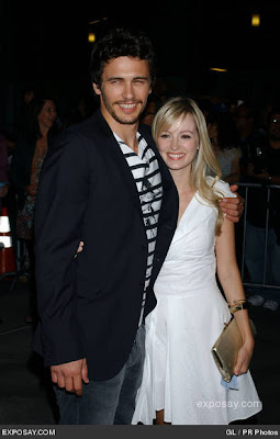 James Franco with Girlfriend