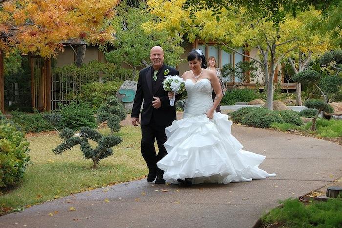 Japanese Friendship Garden Of Phoenix Wedding In The Garden