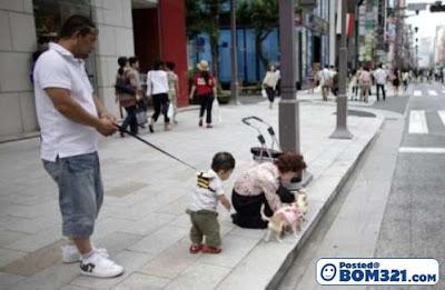 Anak Diikat Seperti Haiwan Perliharaan