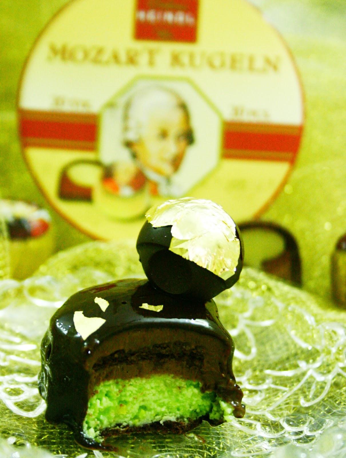 Mouthful of Paradise: Chocolate Pistachio Mousse Cake