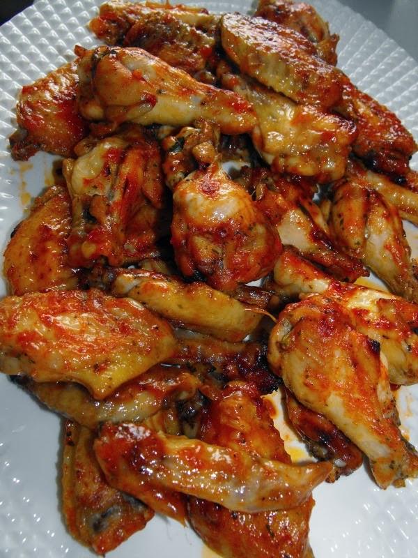 Cocinando dulce y salado alitas de pollo al horno tipo burguer king - Adobo de alitas de pollo ...
