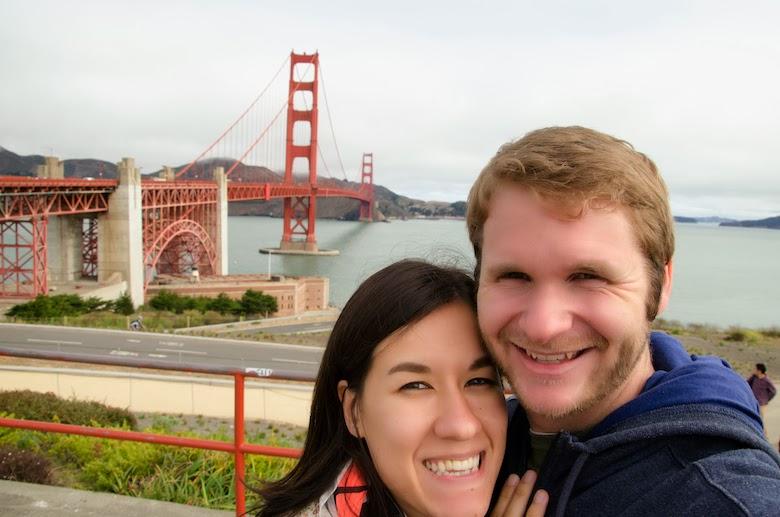 Golden Gate Bridge photo bomb
