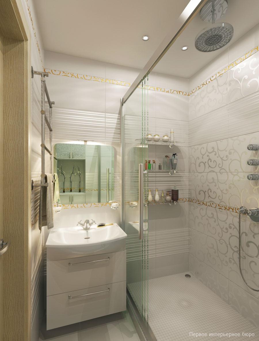 Banheiros decorados 15 inspira es de espelho para o seu Duchas modernas puerto rico