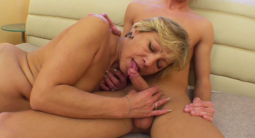 Mom sucks sons cocks