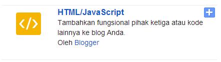 widget html/javascript