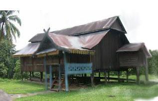 Lumbung Padi Dalam Masyarakat Agrarismaka Adat Rumah Panggung Jambi Juga Membuat Untuk Penyimpanan Hasil Panen Mereka
