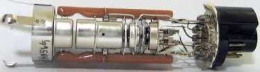 electron gun inside crt