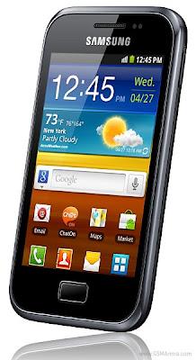 Samsung anuncia Galaxy Ace Plus com processador de 1GHz