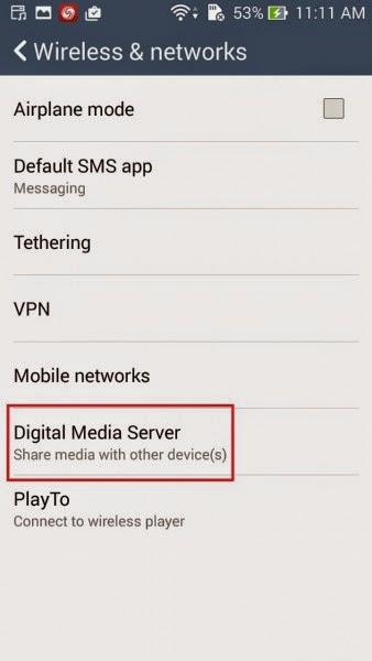 Digital media server asus