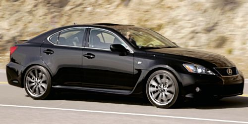 2011 Lexus IS-F  sports sedan  Get New Upgrade