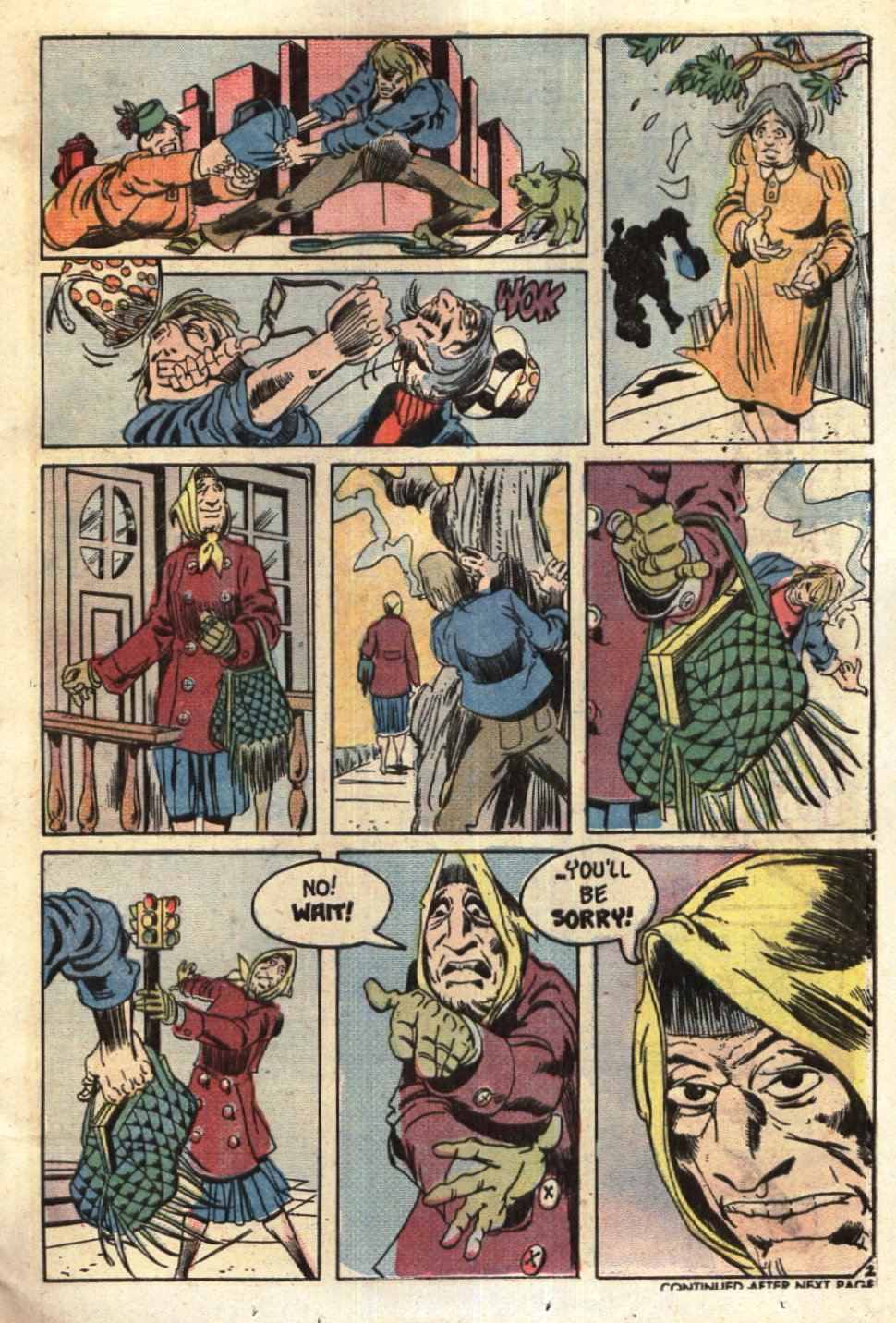 Read online Scary Tales comic -  Issue #6 - 13