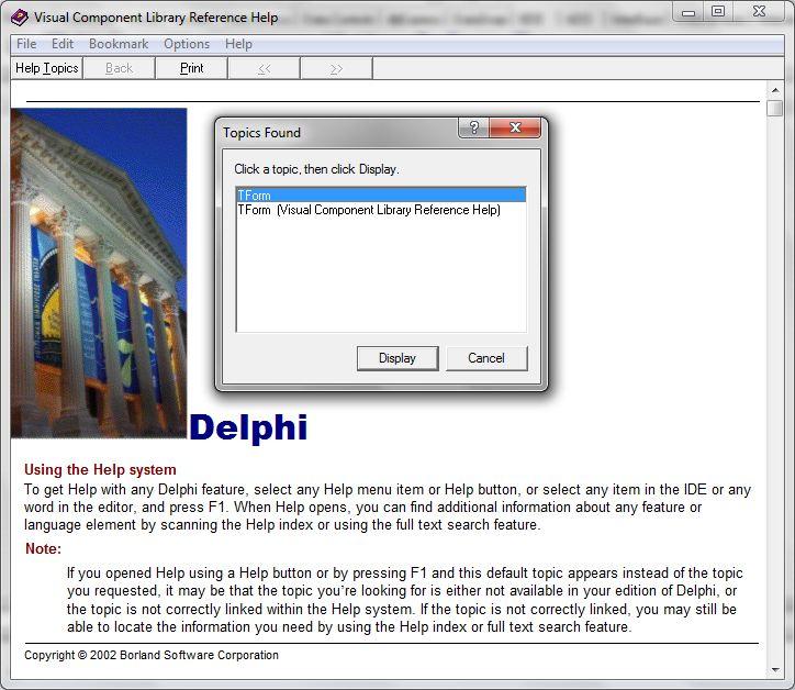 borland delphi 7 for windows 7 64-bit download