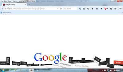cara trik google gravity