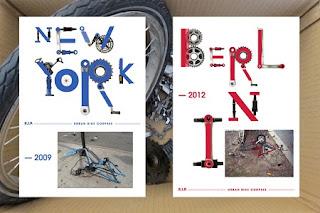 Arte con Piezas Recicladas de Bicicletas