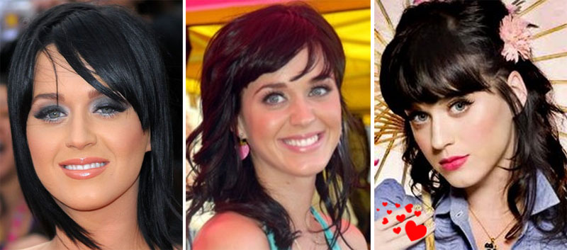 katy perry cabelo4 O cabelo da Katy Perry
