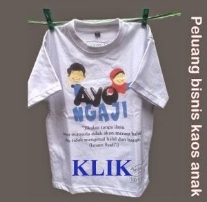 Bisnis Kaos Anak