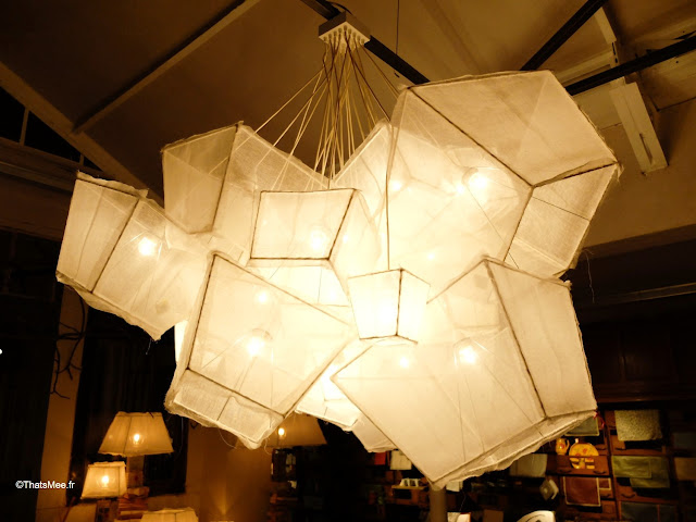 restaurant borgo delle tovaglie italie luminaire suspension en toile