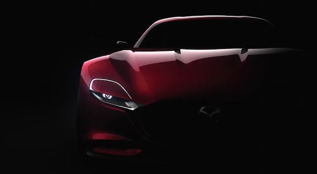 マツダ、新型ロータリースポーツコンセプト「RX-VISION」を世界初披露!