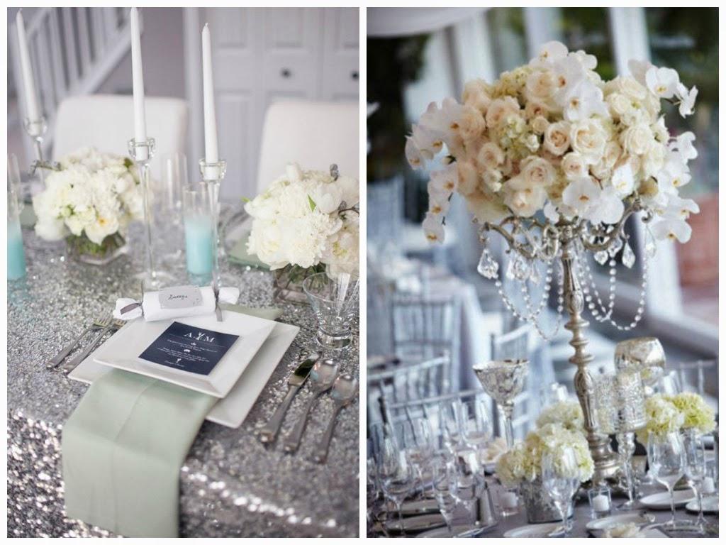 brancoprata decoracao:branco e prata (prateado) também é uma excelente paleta de cores
