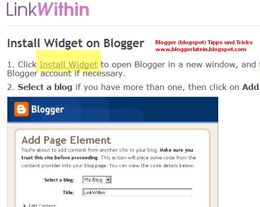 Ähnliche Artikel bei Blogger anzeigen. Artikel die sie interessieren könnten bei Blogger anzeigen. Linkwithin