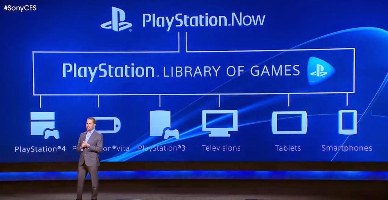 Presentación de Playstation Now en el E3