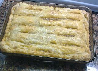Empanada Vegana de Seitan