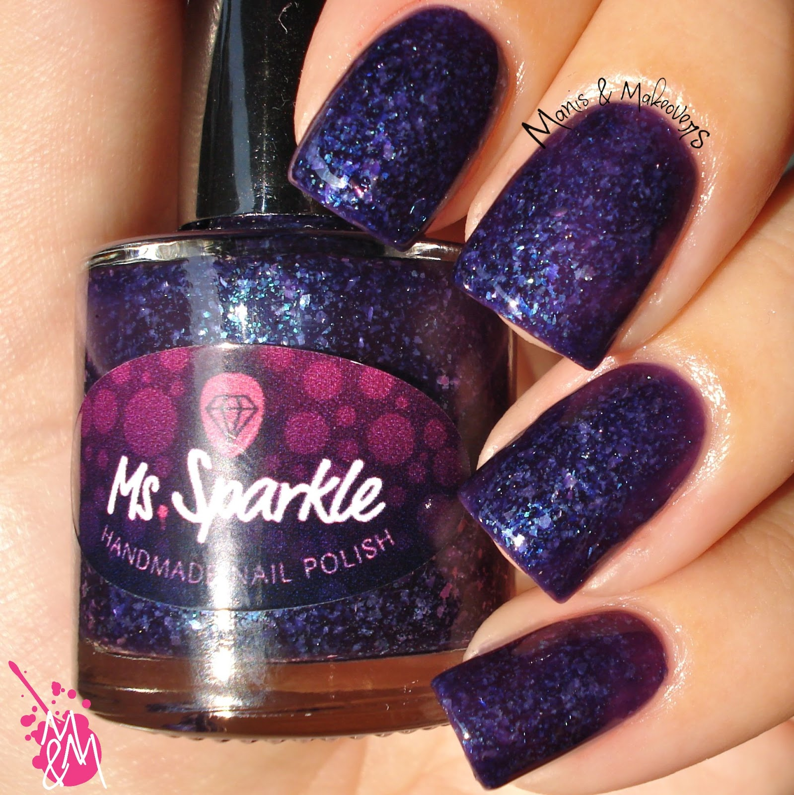 Manis Amp Makeovers Ms Sparkle Sheer OMagic Collection
