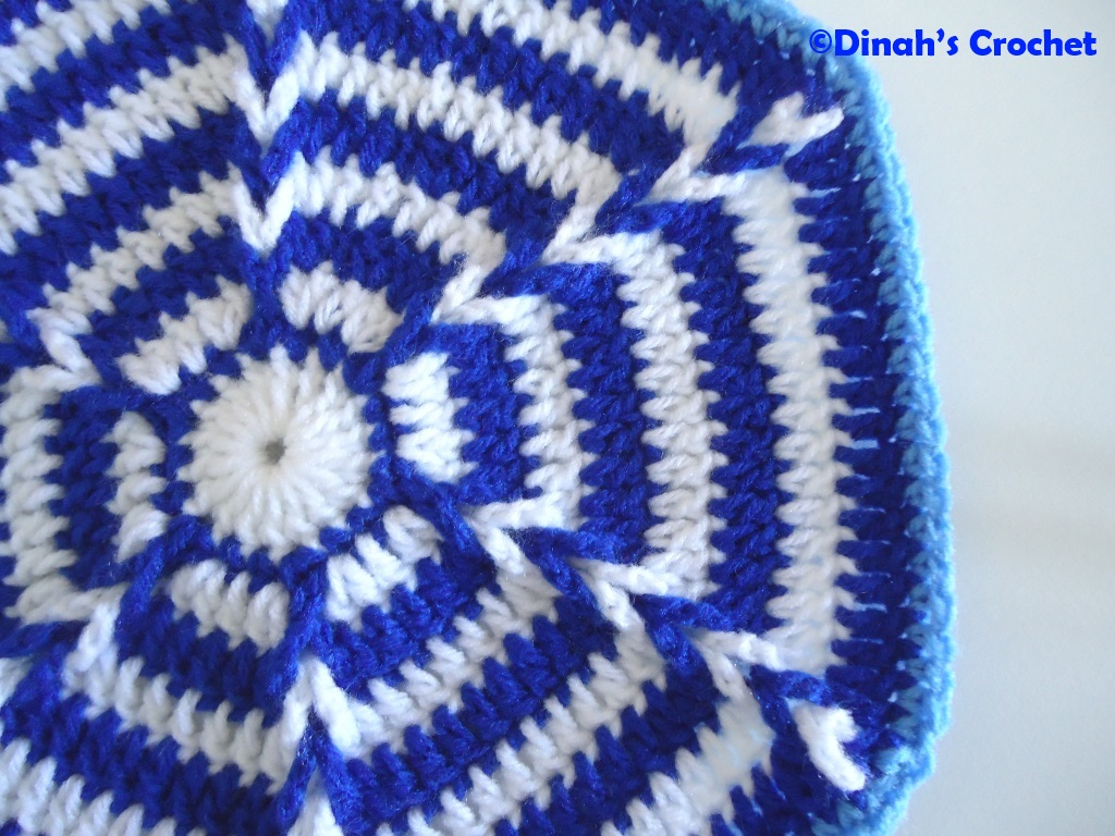 Dinah Crochet Coaster Daisy Dish Cloth Happy Crocheting Xoxo