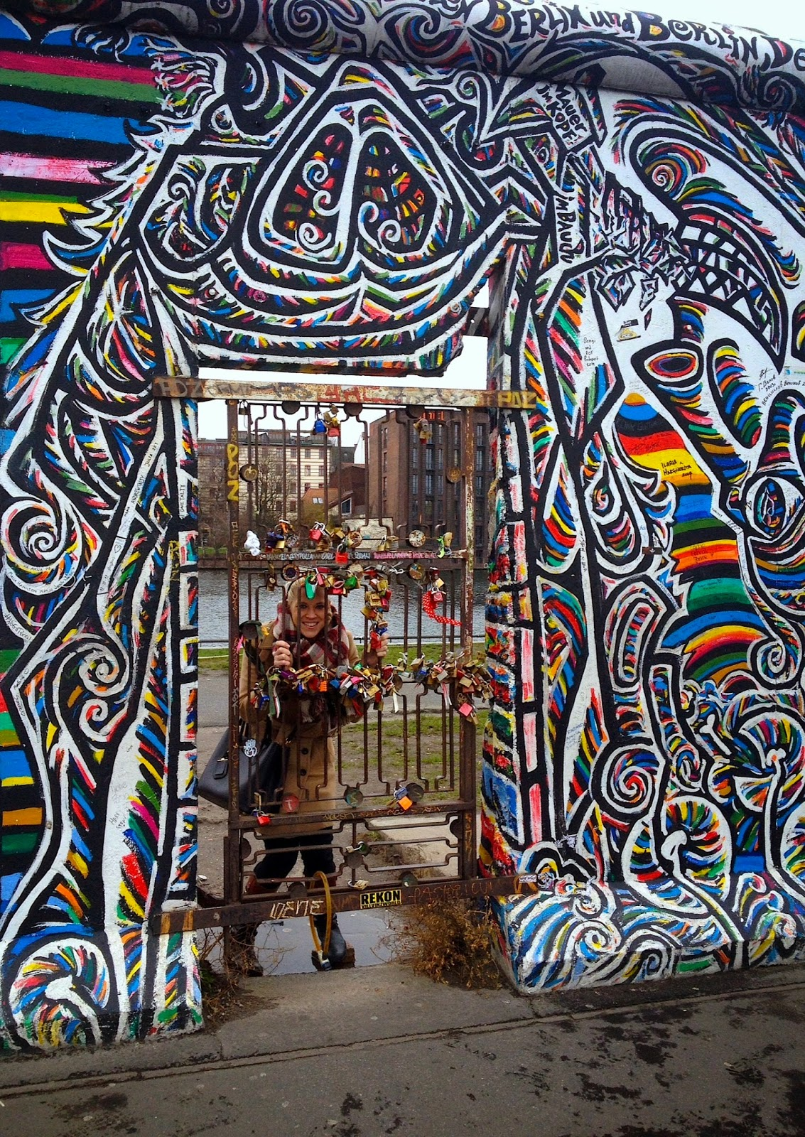 East Side Gallery gate