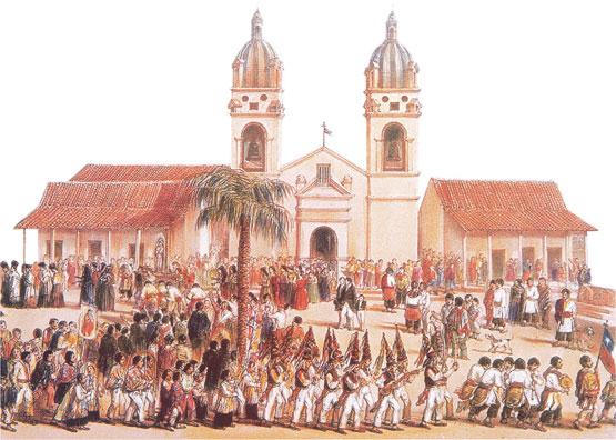 iglesia catolica de chile: