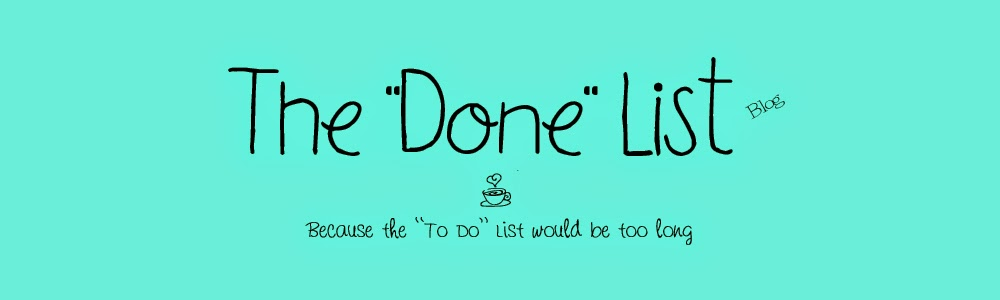 "The ""Done"" List"